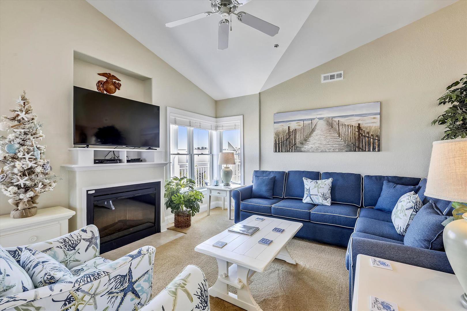 4100 Oceanside Condos 405 - Living Room