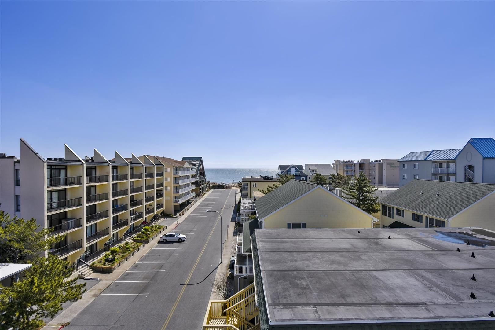 4100 Oceanside Condos 405 - Balcony View