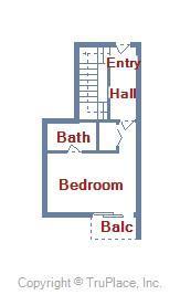 Century I 2221 - Lower Level Floor Plan