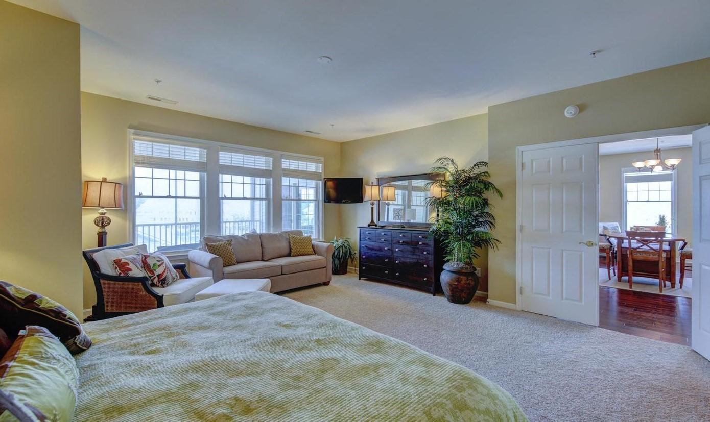 Bayside 204B - Master Bedroom