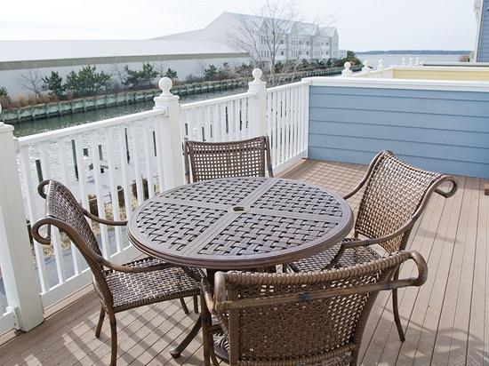 Sunset Island 43 Island Edge Dr. - Balcony off of Kitchen