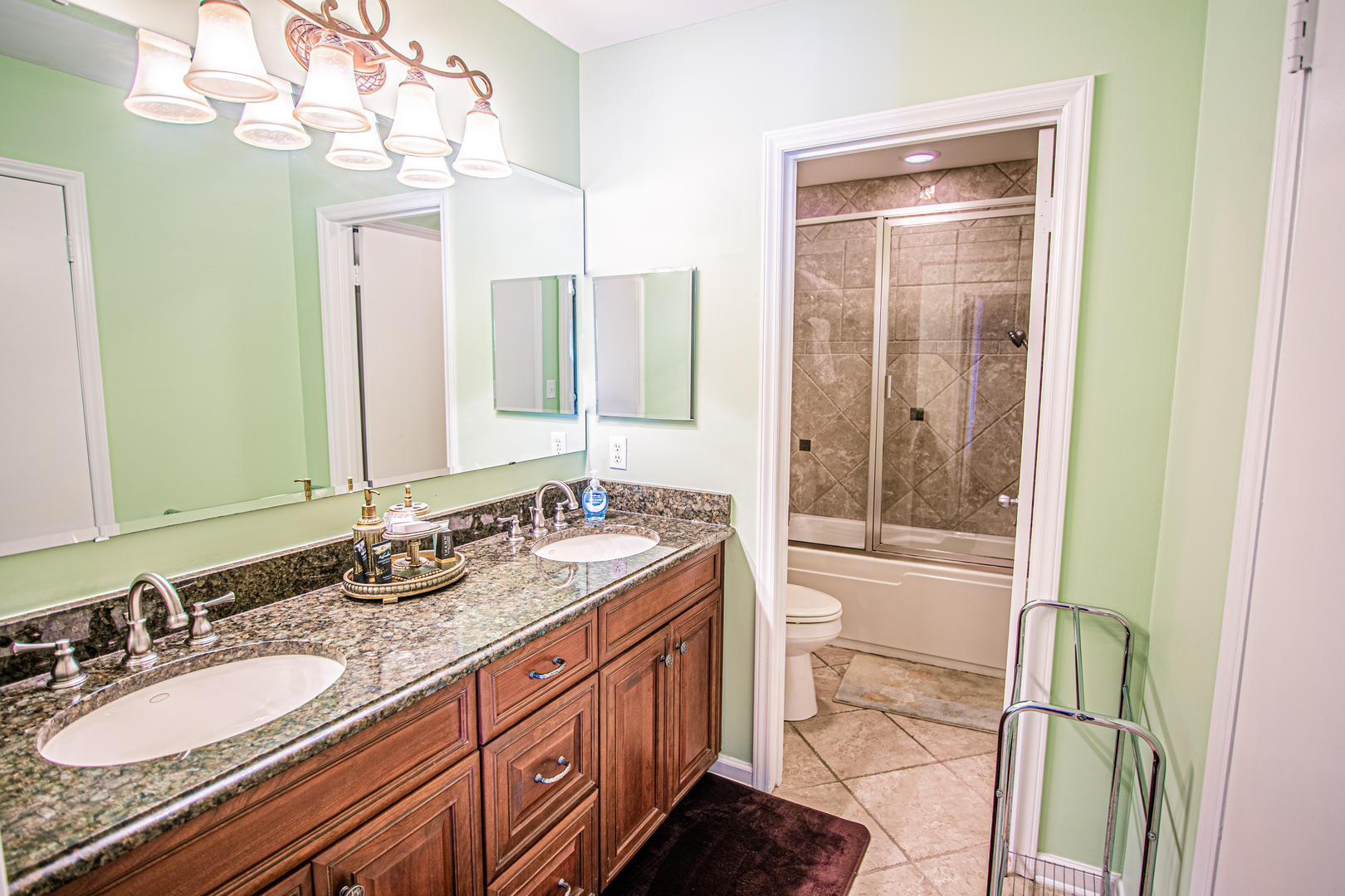 Ocean Creek Garden Home 41 - Master Bath
