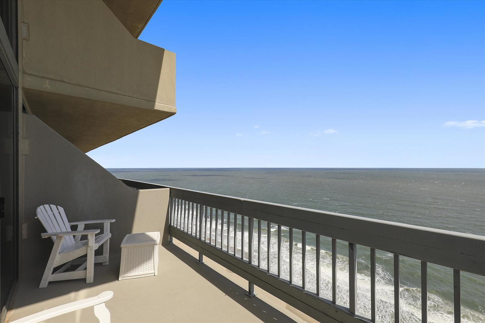 Century I 2502 - Balcony off of Living Room
