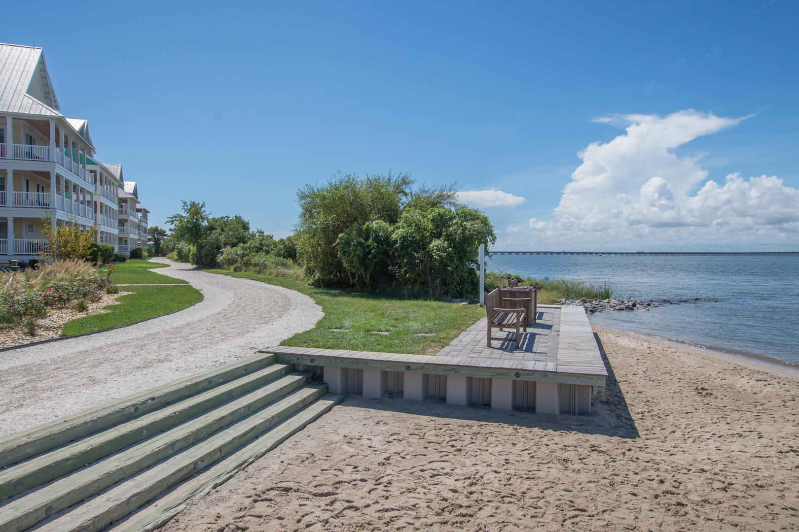 Sunset Island Private Bayfront Beaches