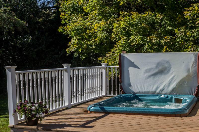 Waterside Hot tub
