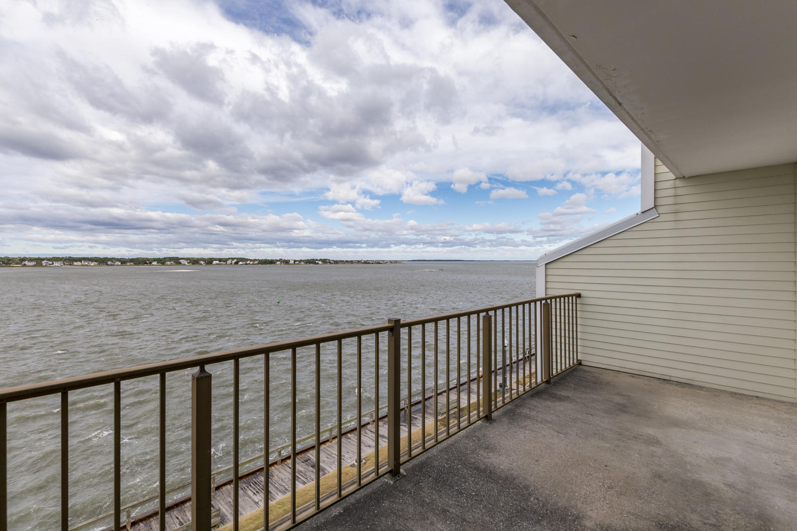 Crab Cove on the Bay 404 - Lower Balcony