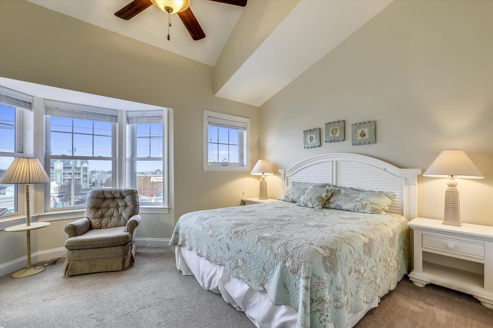 Sunburst 110 - Master Bedroom