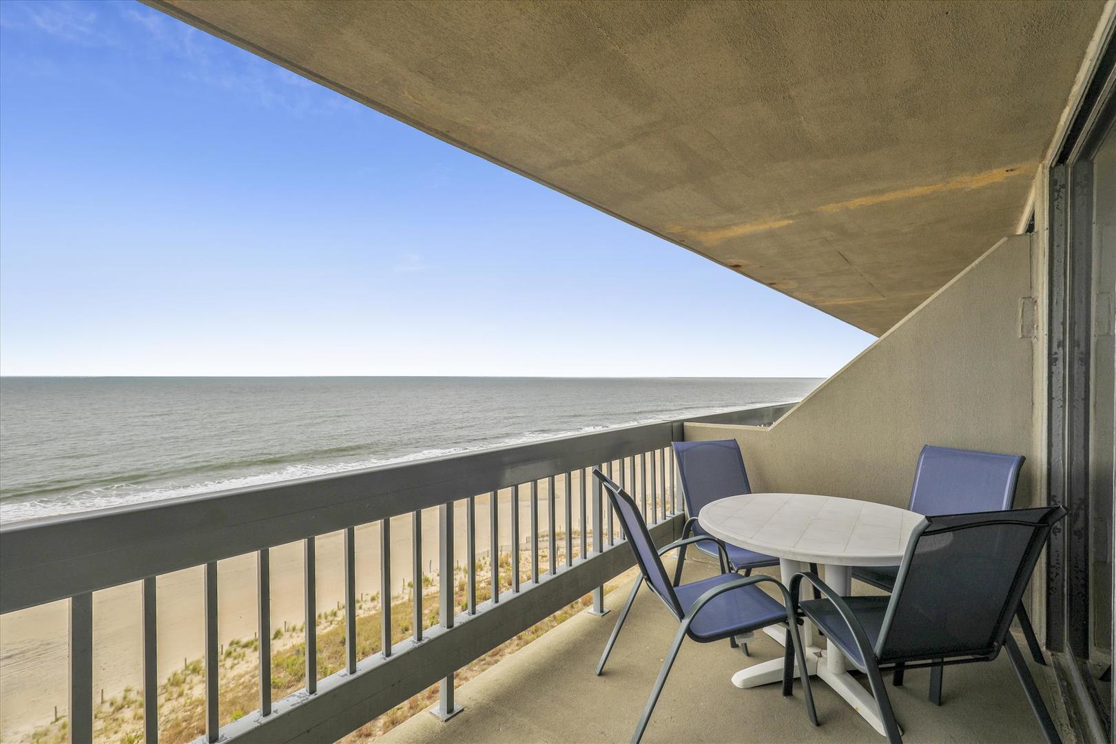 Century I 719 - Balcony off of Living Room