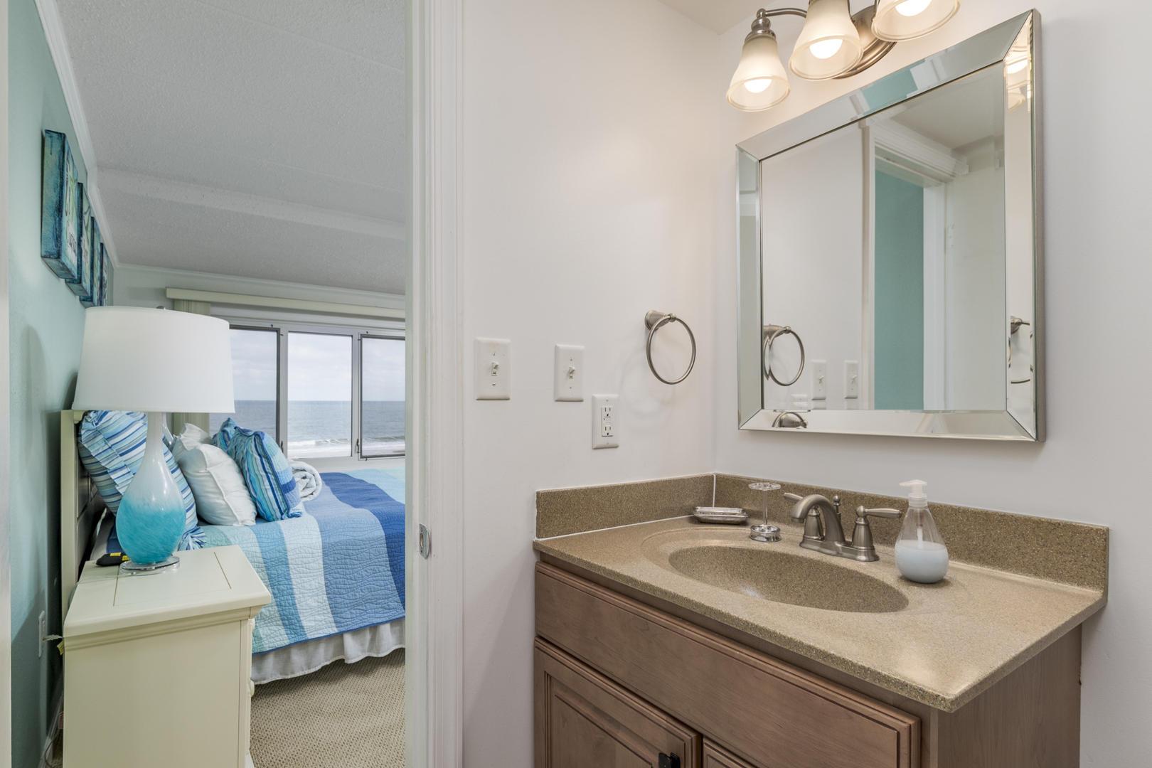 Pelican Beach 102 - Master Bathroom