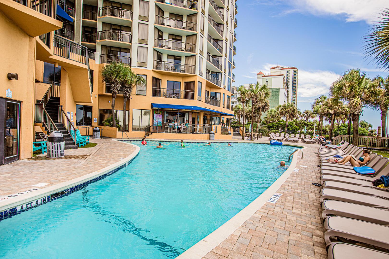 Patricia Grand Outdoor Pool (open seasonally)