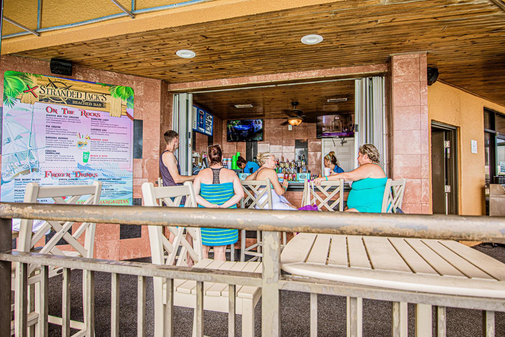 Patricia Grand Pool Bar (open seasonally)