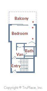 Century I 2210 - Upper Level Floor Plan