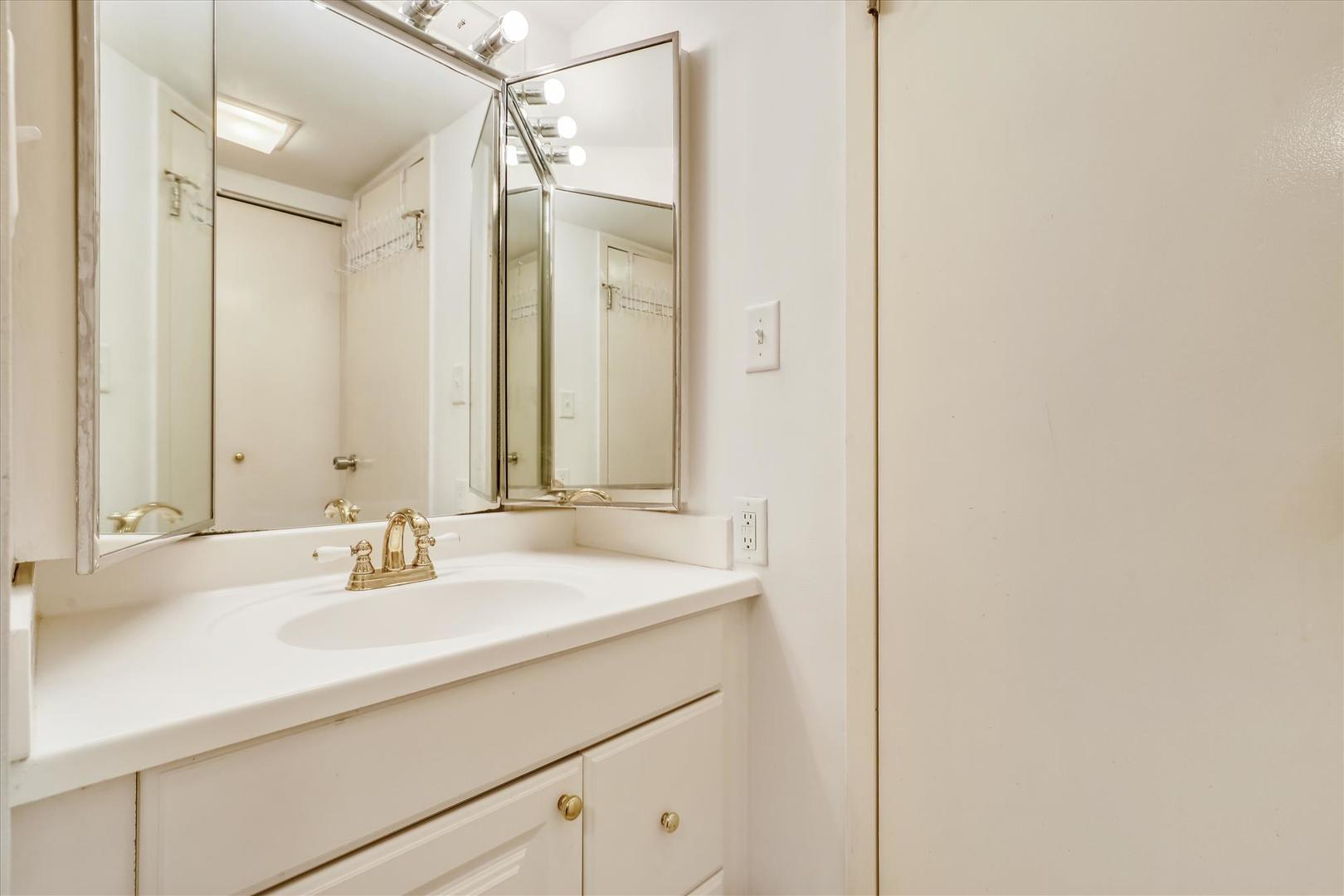 Century I 2210 - Full Bathroom on Lower Level