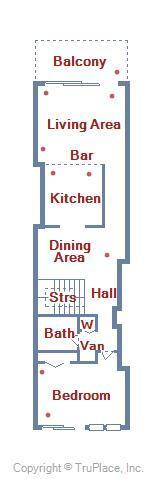 Century I 2203 - Upper Level Floor Plan