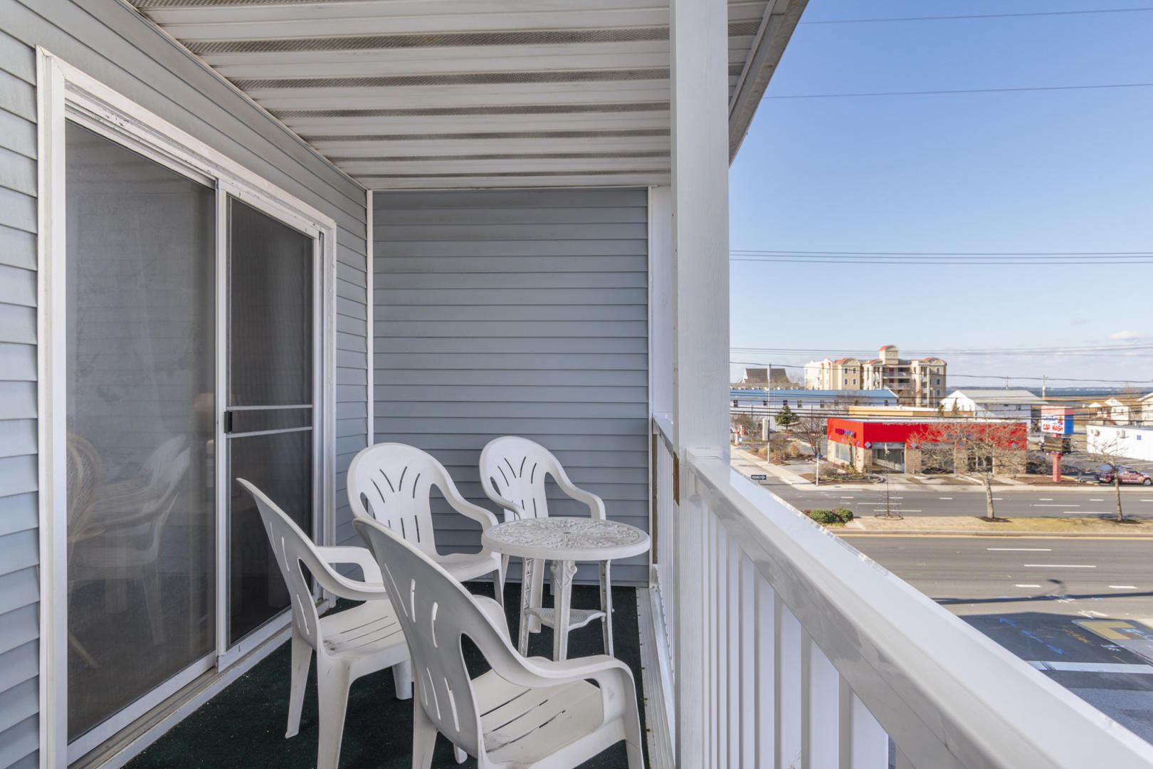 Seaway 21 - Balcony