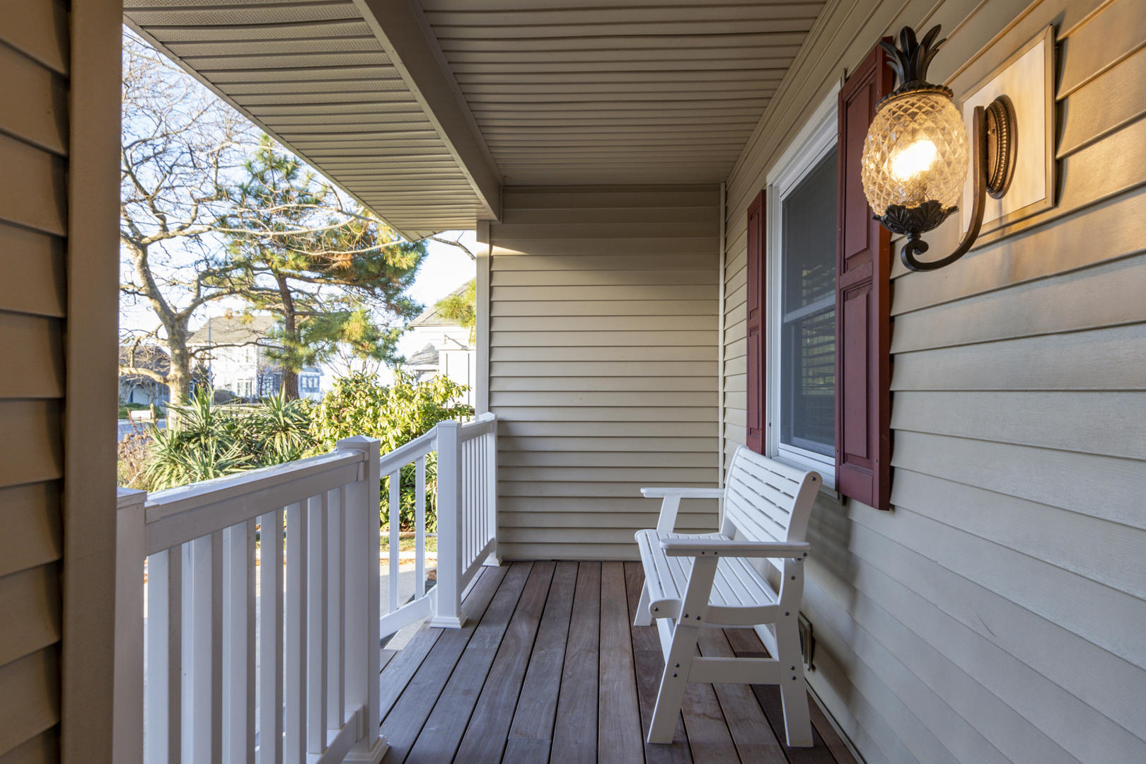 10618 Point Lookout - Front Porch