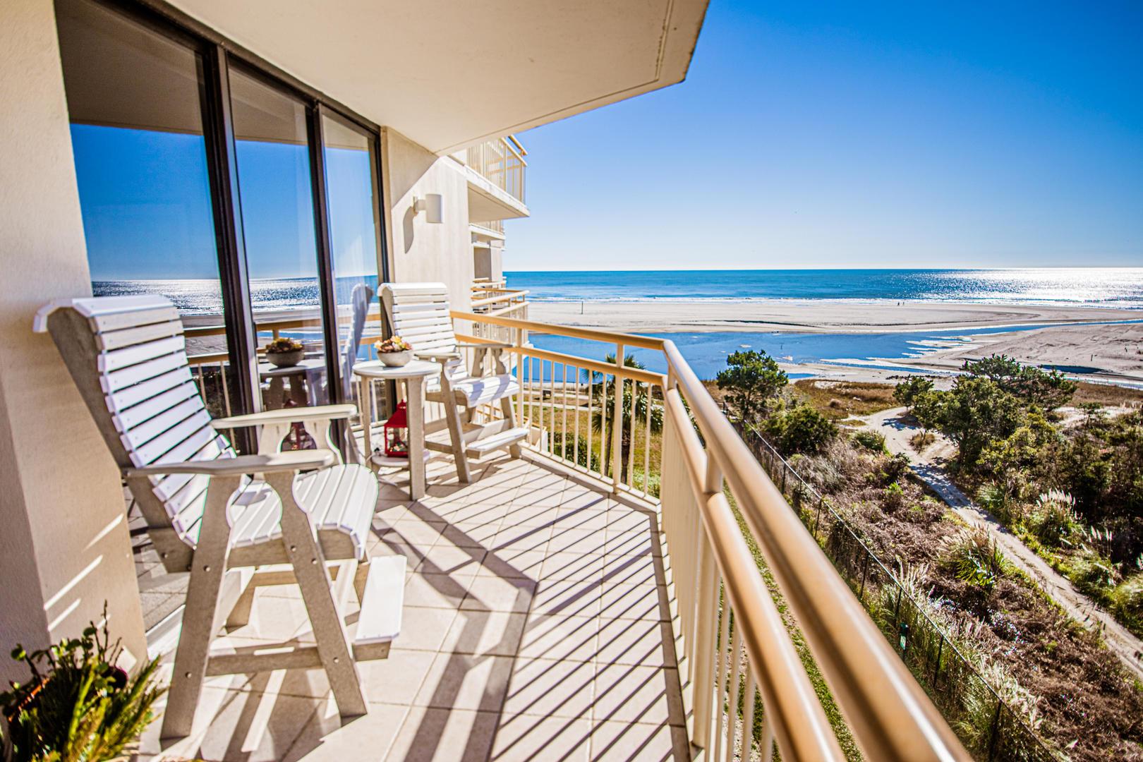 Ocean Creek PP4 - Private Balcony