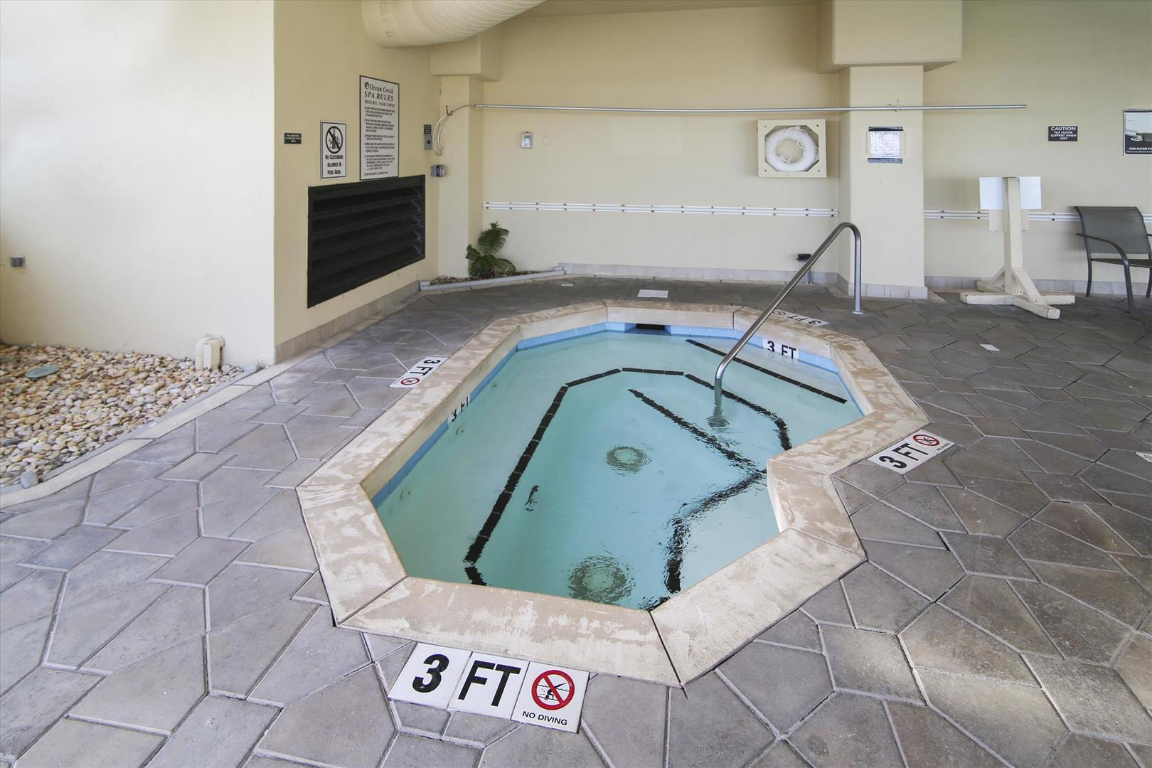 South Tower Hot Tub