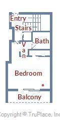 Century I 1909 - Lower Level Floor Plan