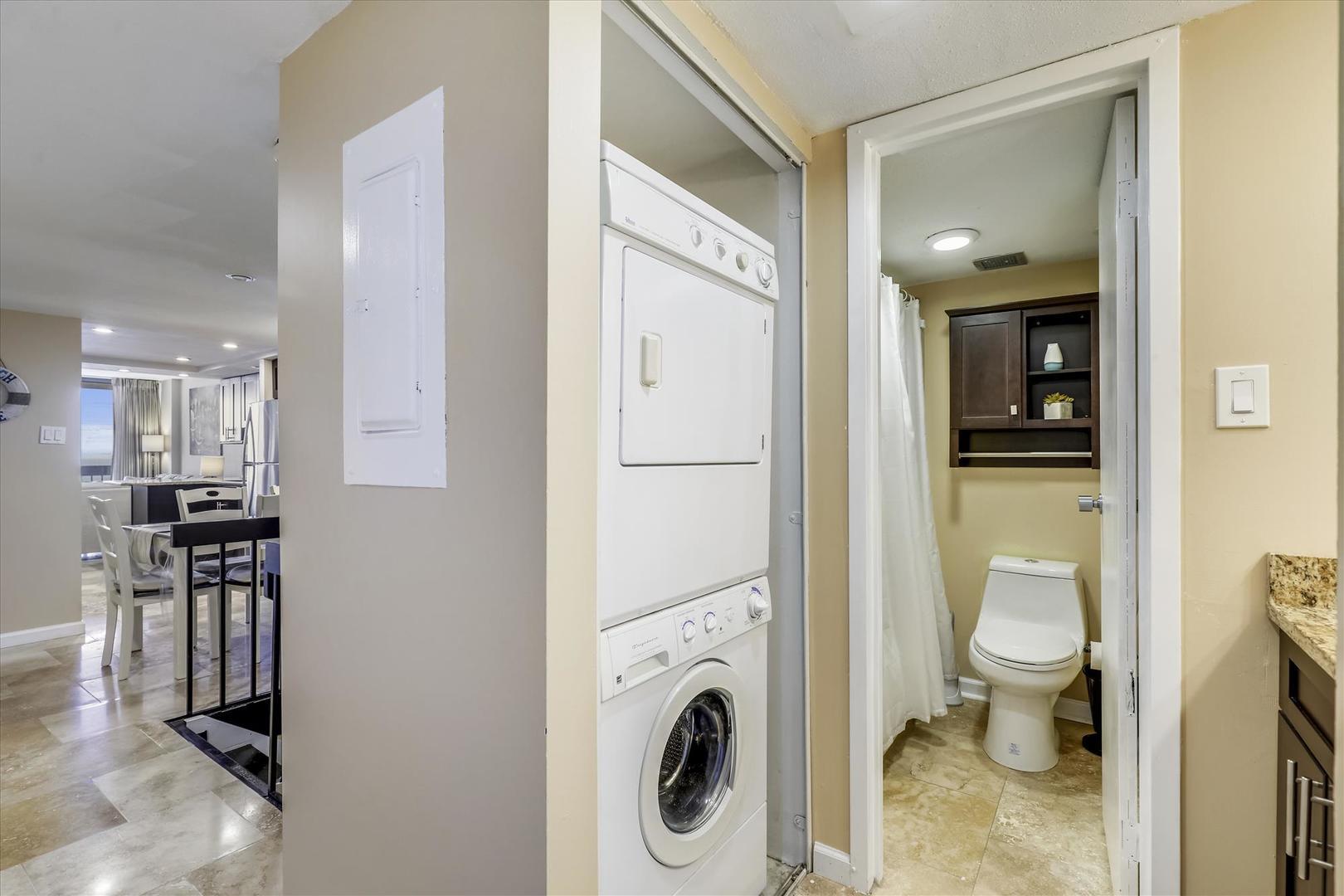 Century I 1909 - Laundry Area and Upper Bathroom