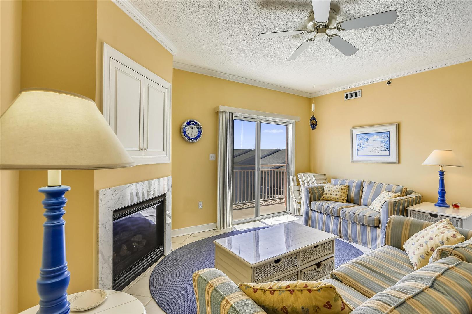 Sunset Bay II 518 - Living Room