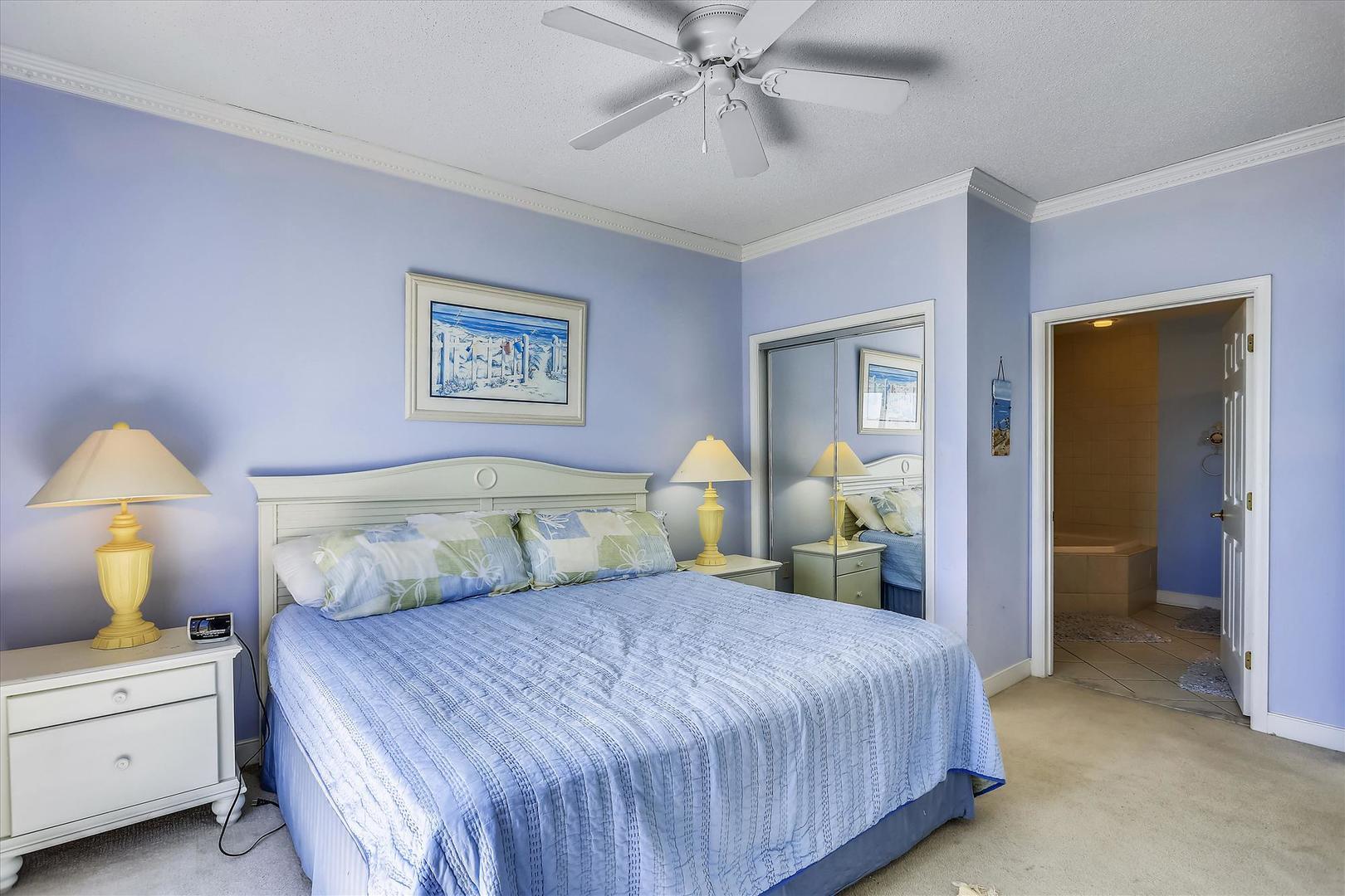 Sunset Bay II 518 - Master Bedroom