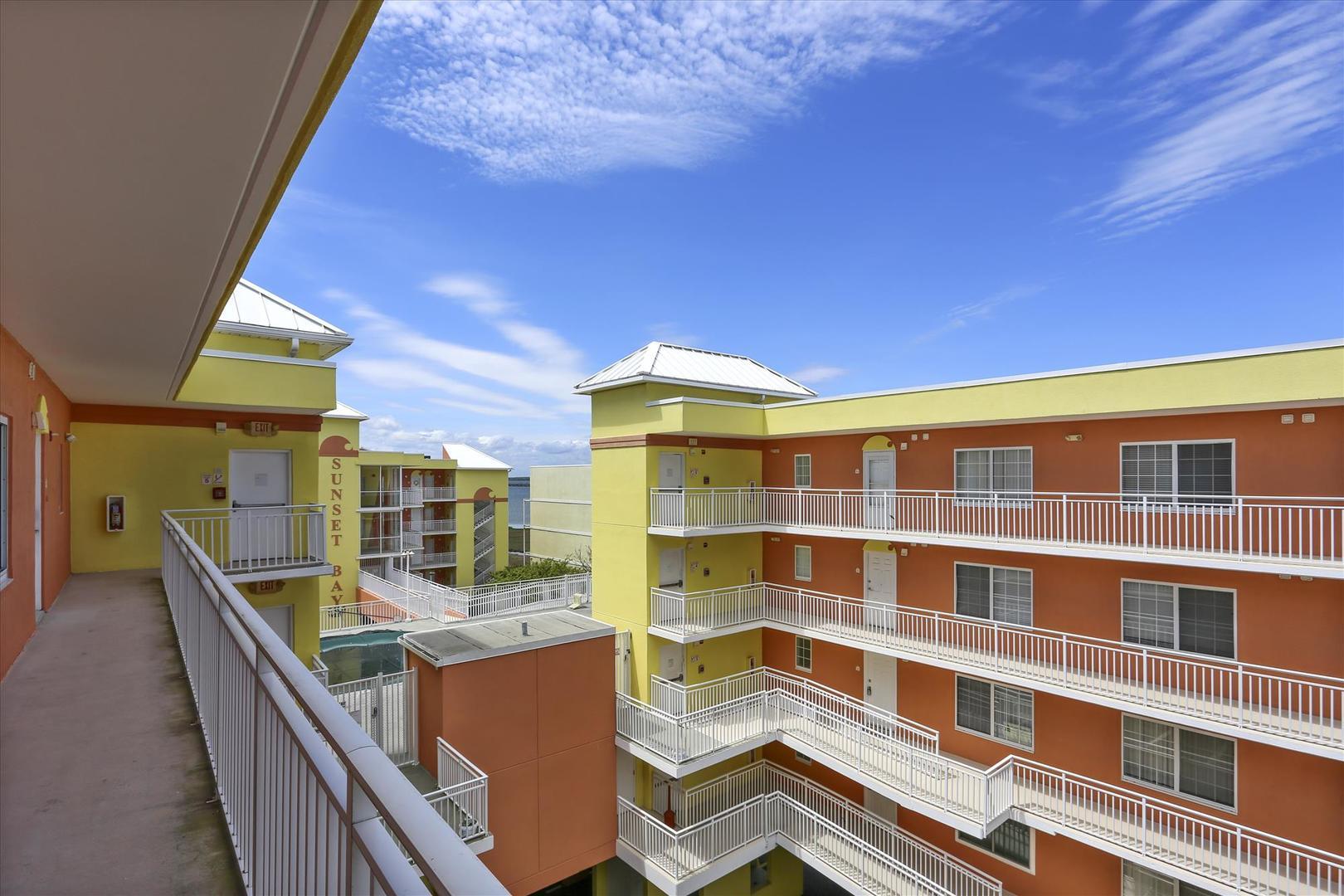 Sunset Bay II 518 - Balcony