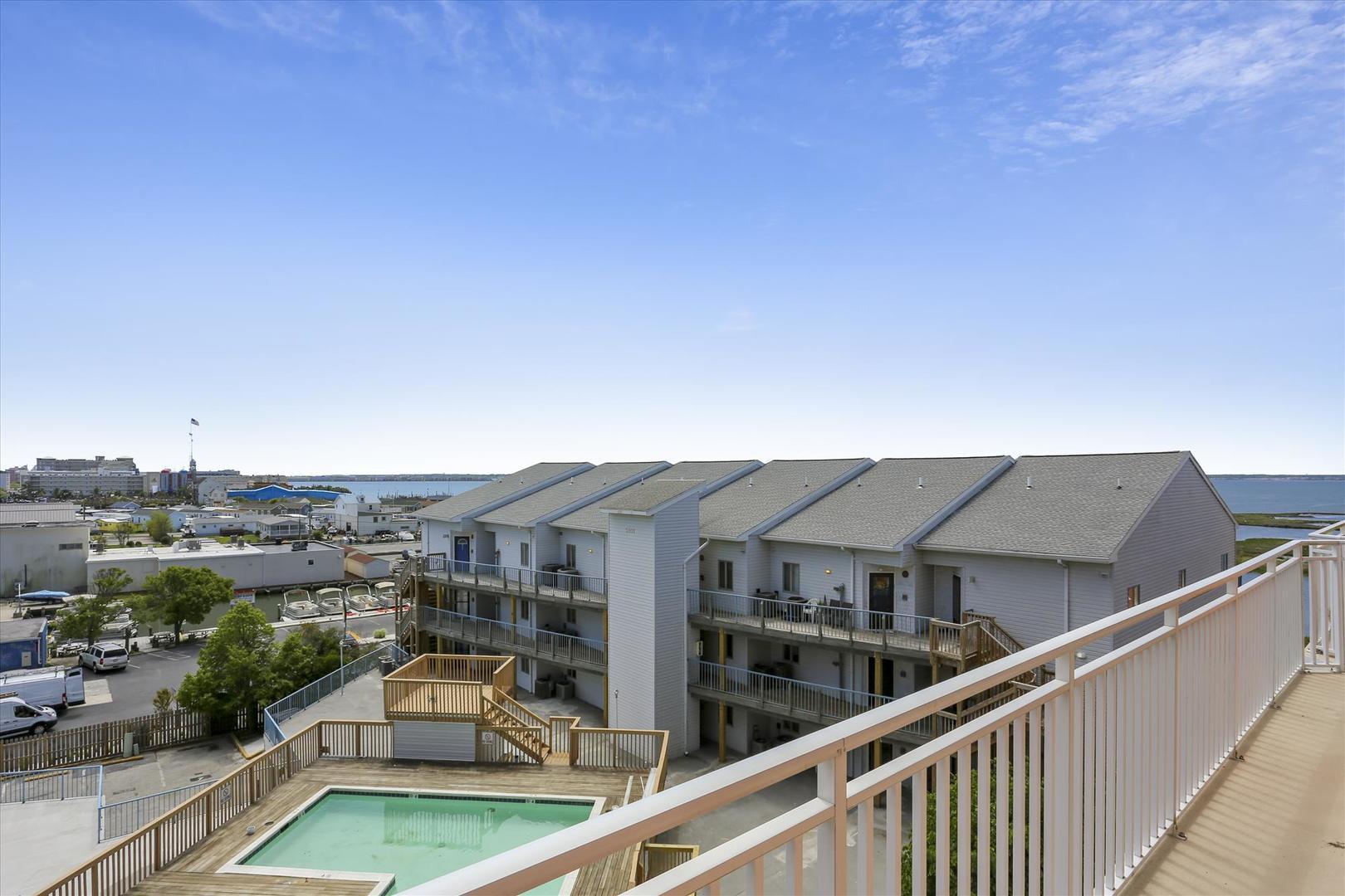 Sunset Bay II 518 - Balcony View