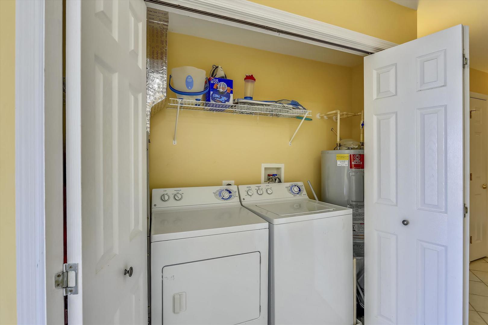 Sunset Bay II 518 - Laundry Area