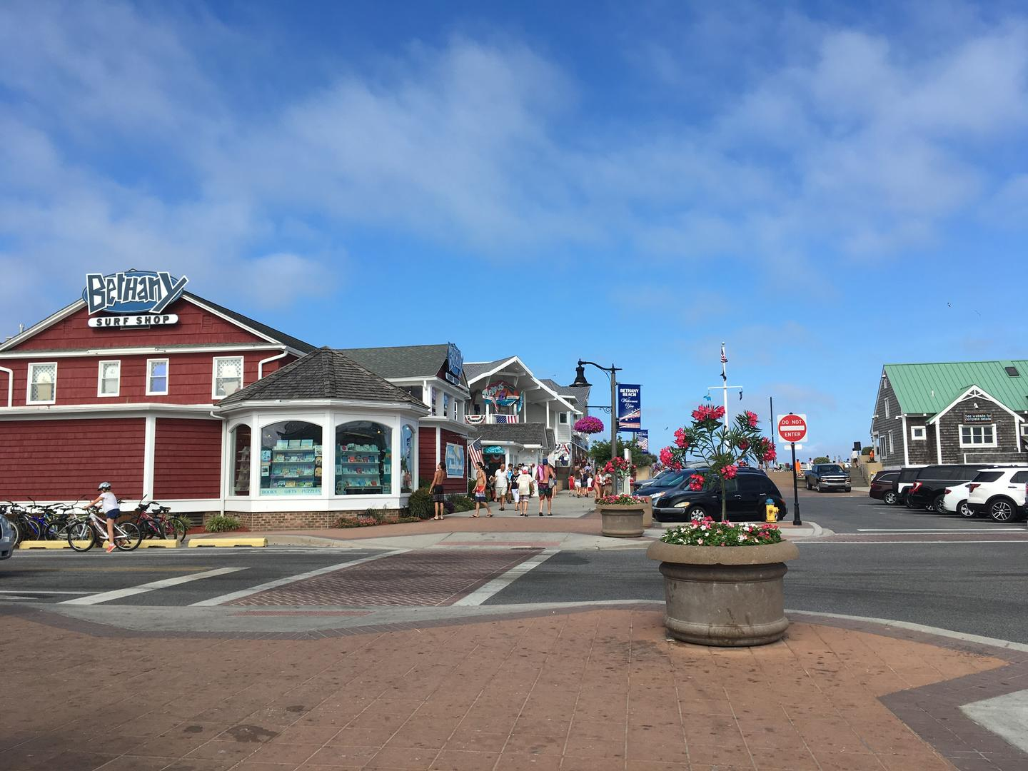 Downtown Bethany Beach (10-minute drive)