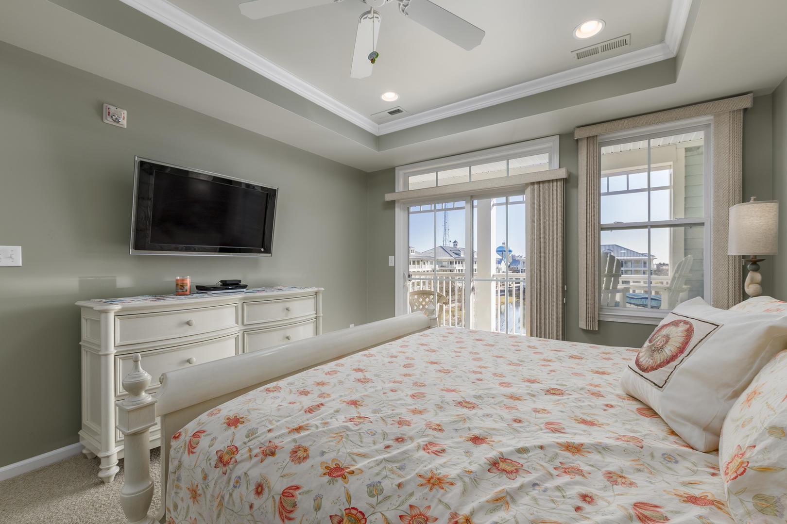Sunset Island, 6 Sunset Island Drive, 4E - Master Bedroom