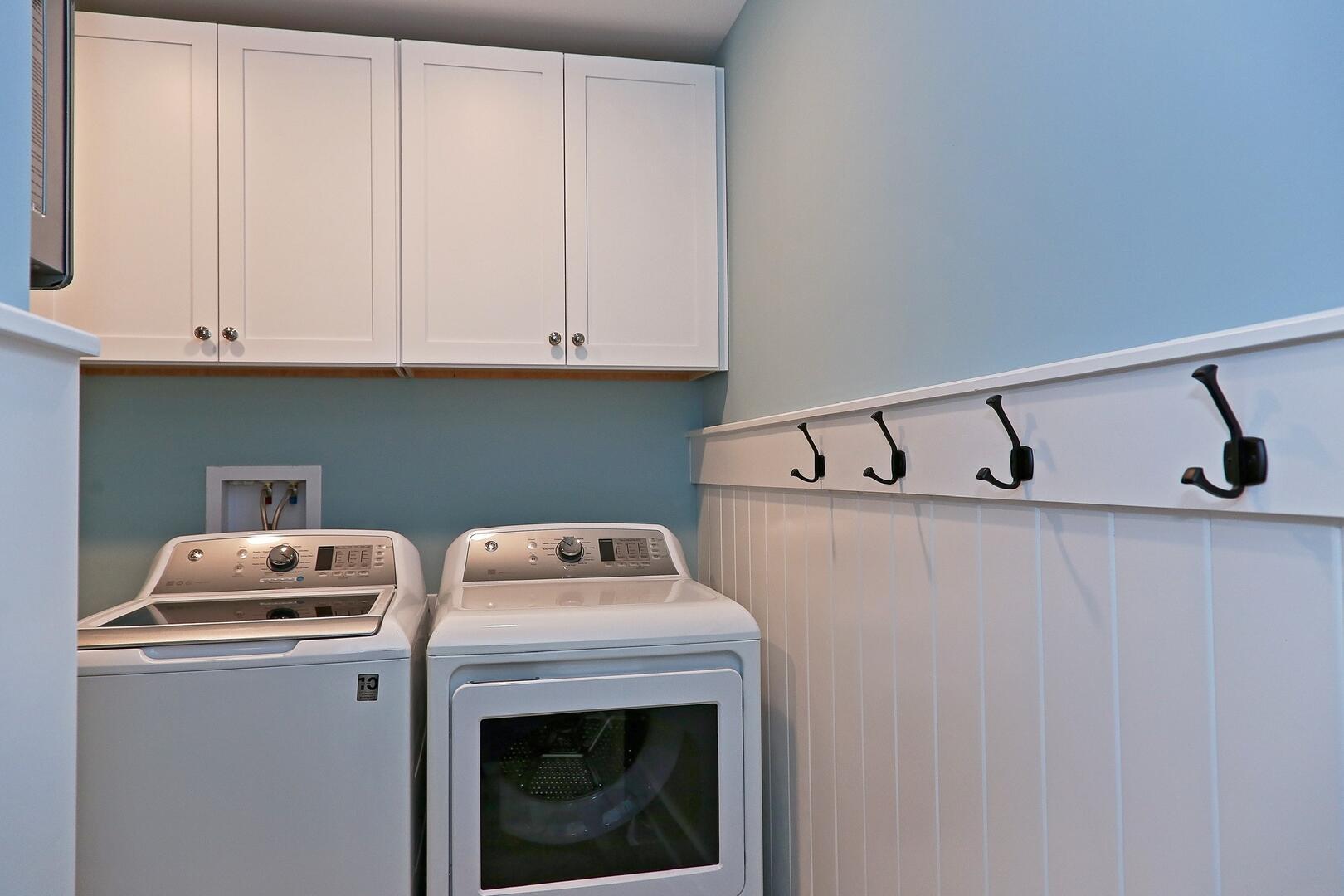 Laundry Room - 1611 King and Coastal