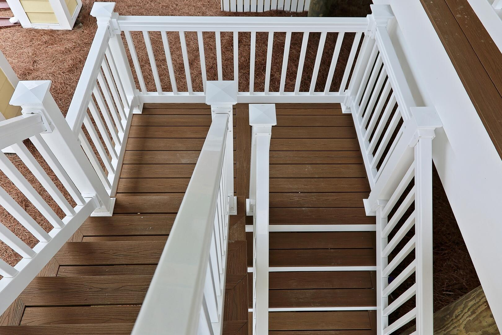 Outside Stairs to Home - 1611 King and Coastal