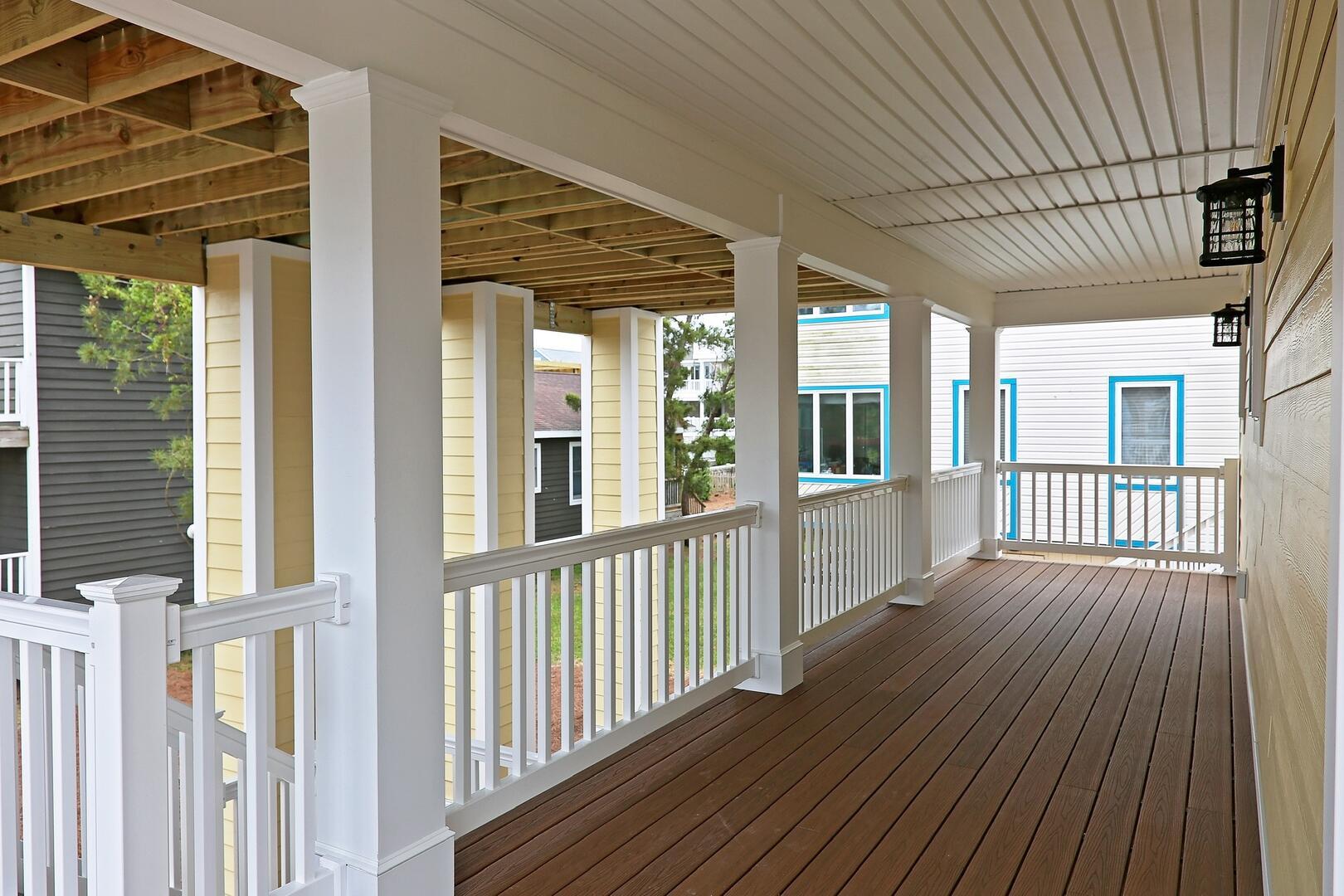 Porch Area - 1611 King and Coastal