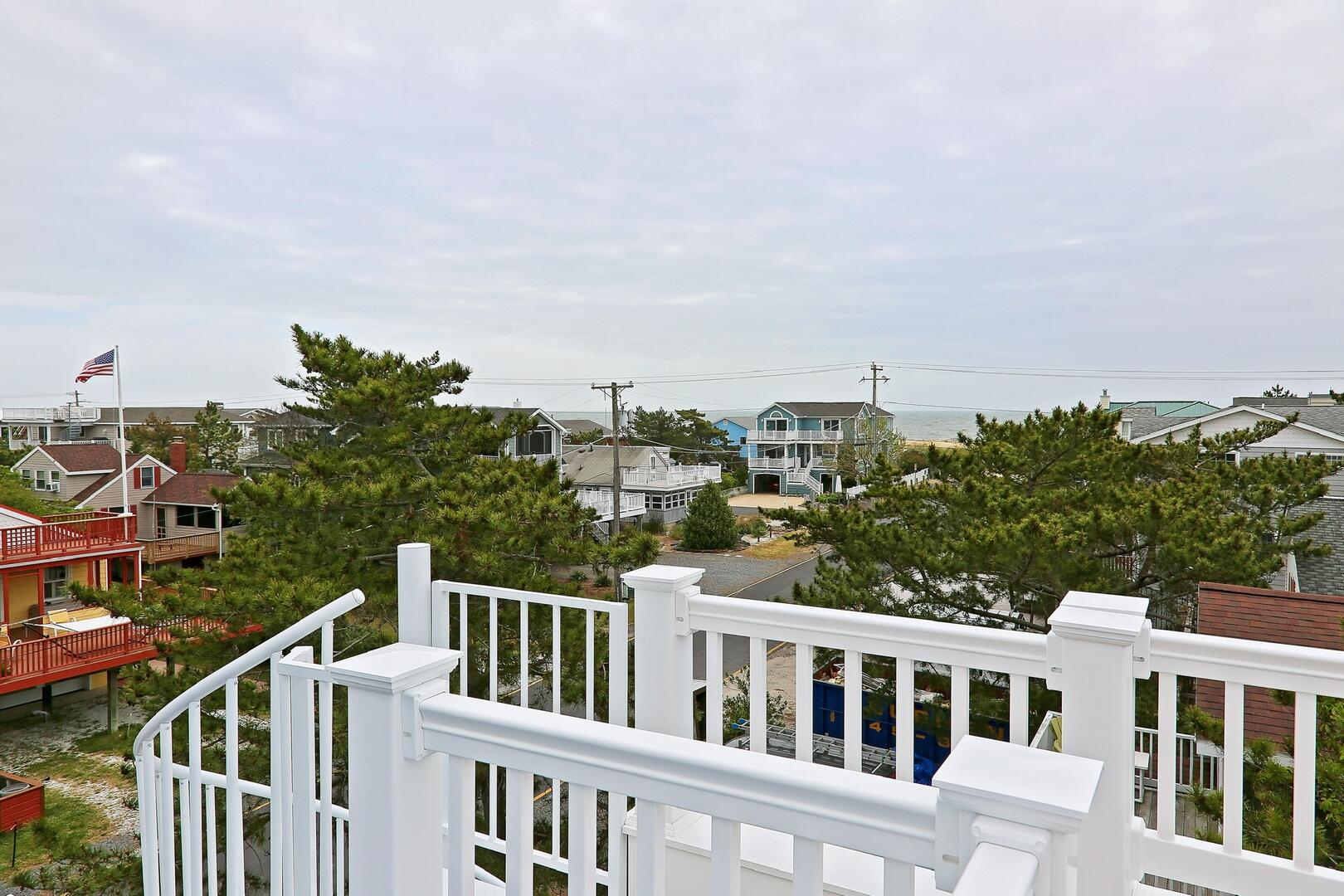 View from Upper Deck - 1611 King and Coastal