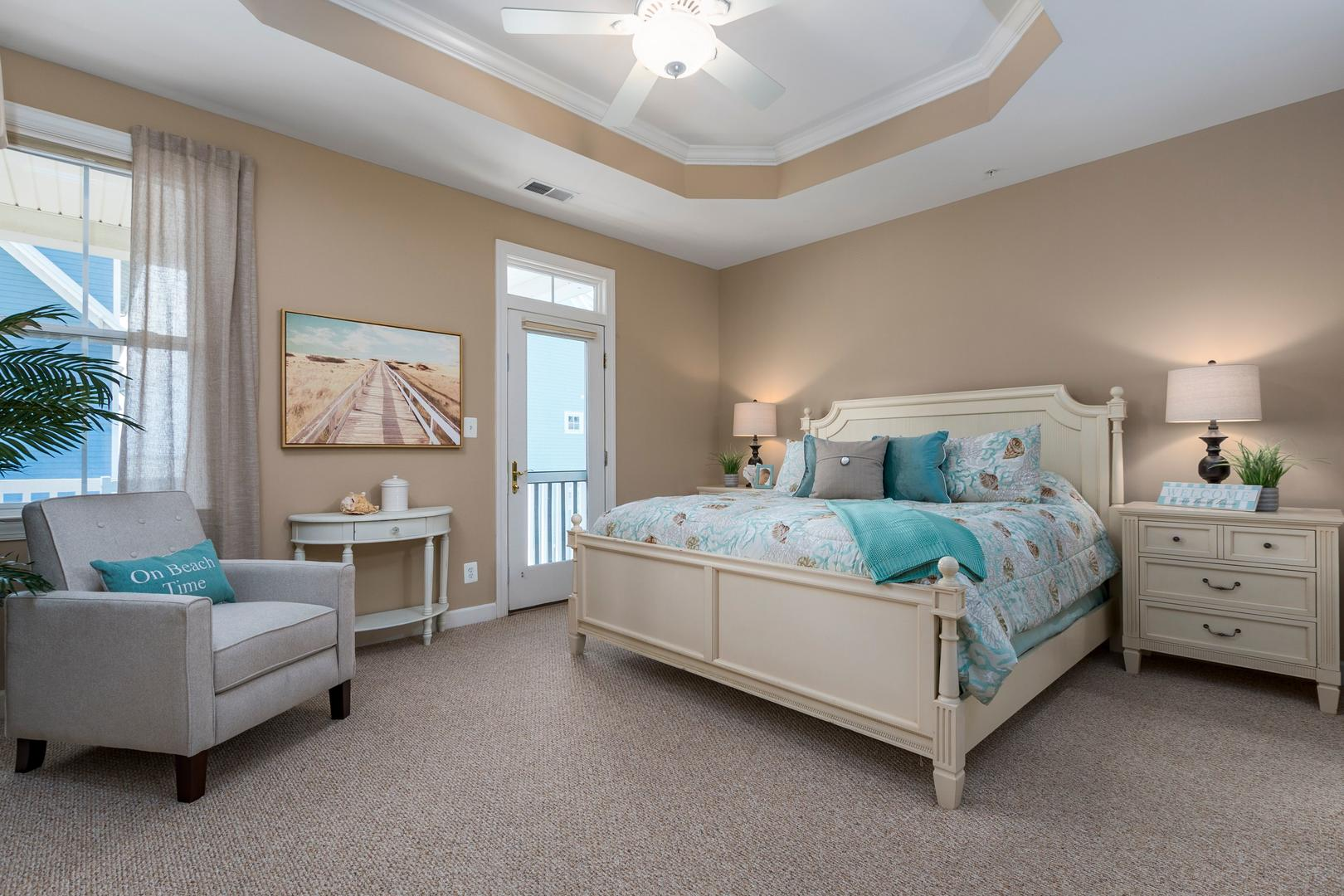 Sunset Island 12 Shore Point Dr. - 3rd Floor Master Bedroom with King