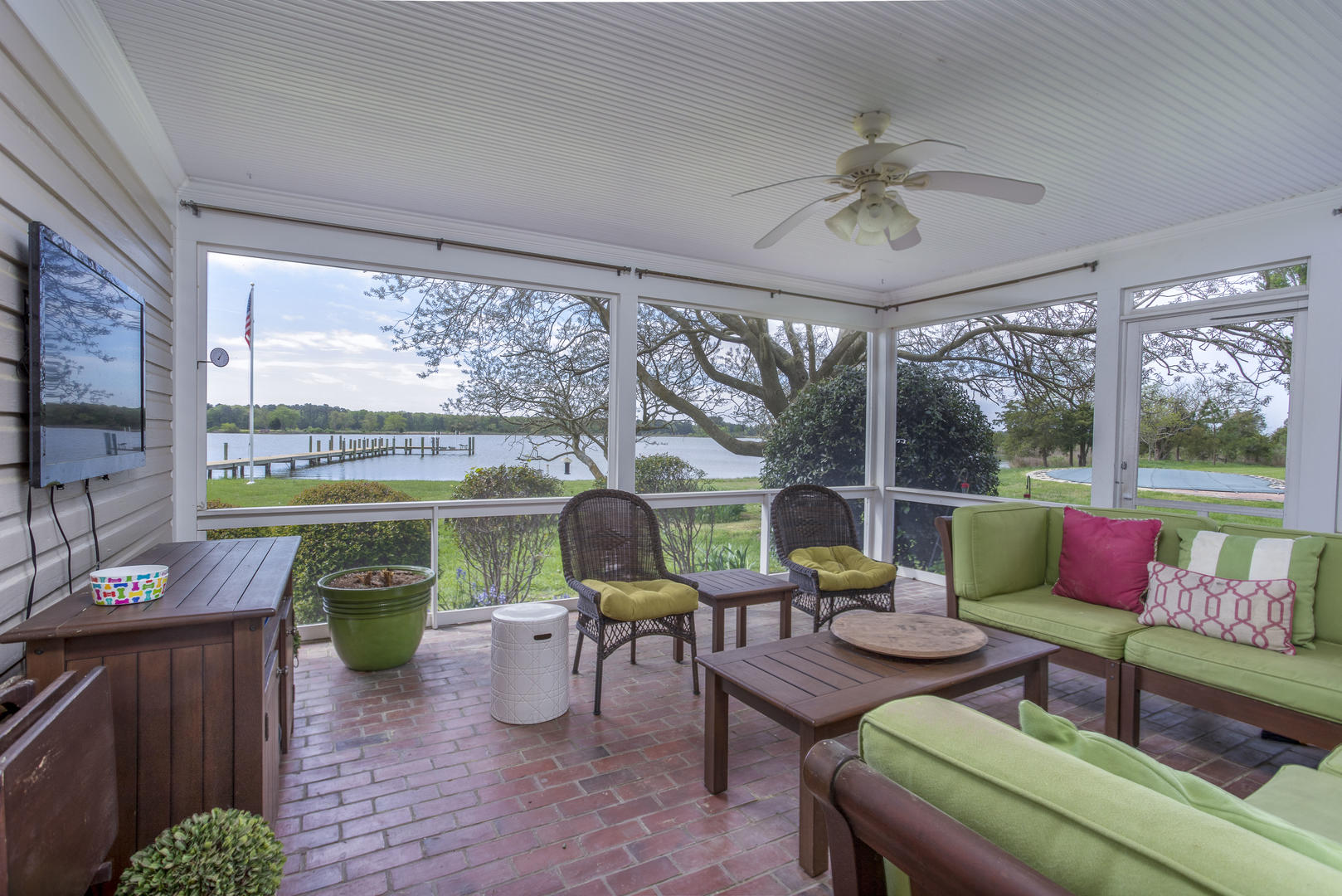 Waterside Screen Porch