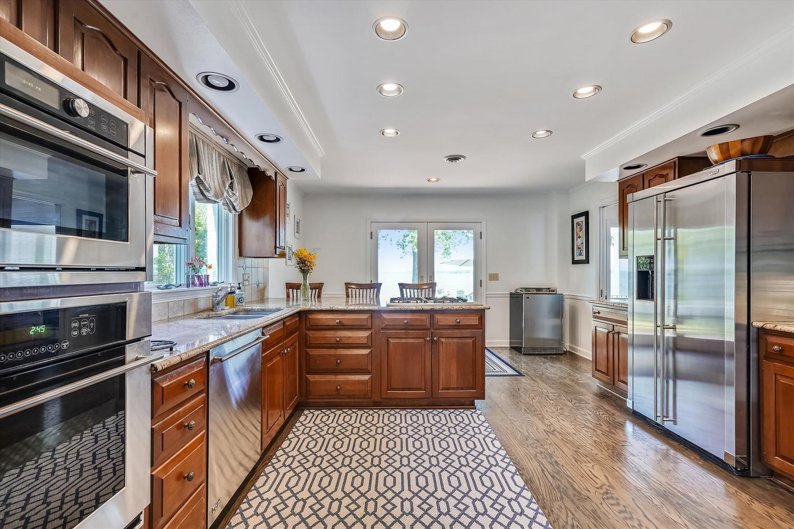 Gourmet Kitchen with High-End Appliances