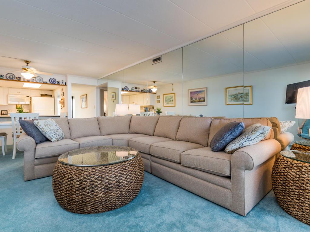Pelican Beach, 204 - Living Room