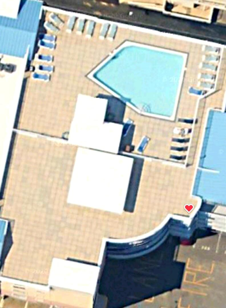 Aerial View Showing Location on Building