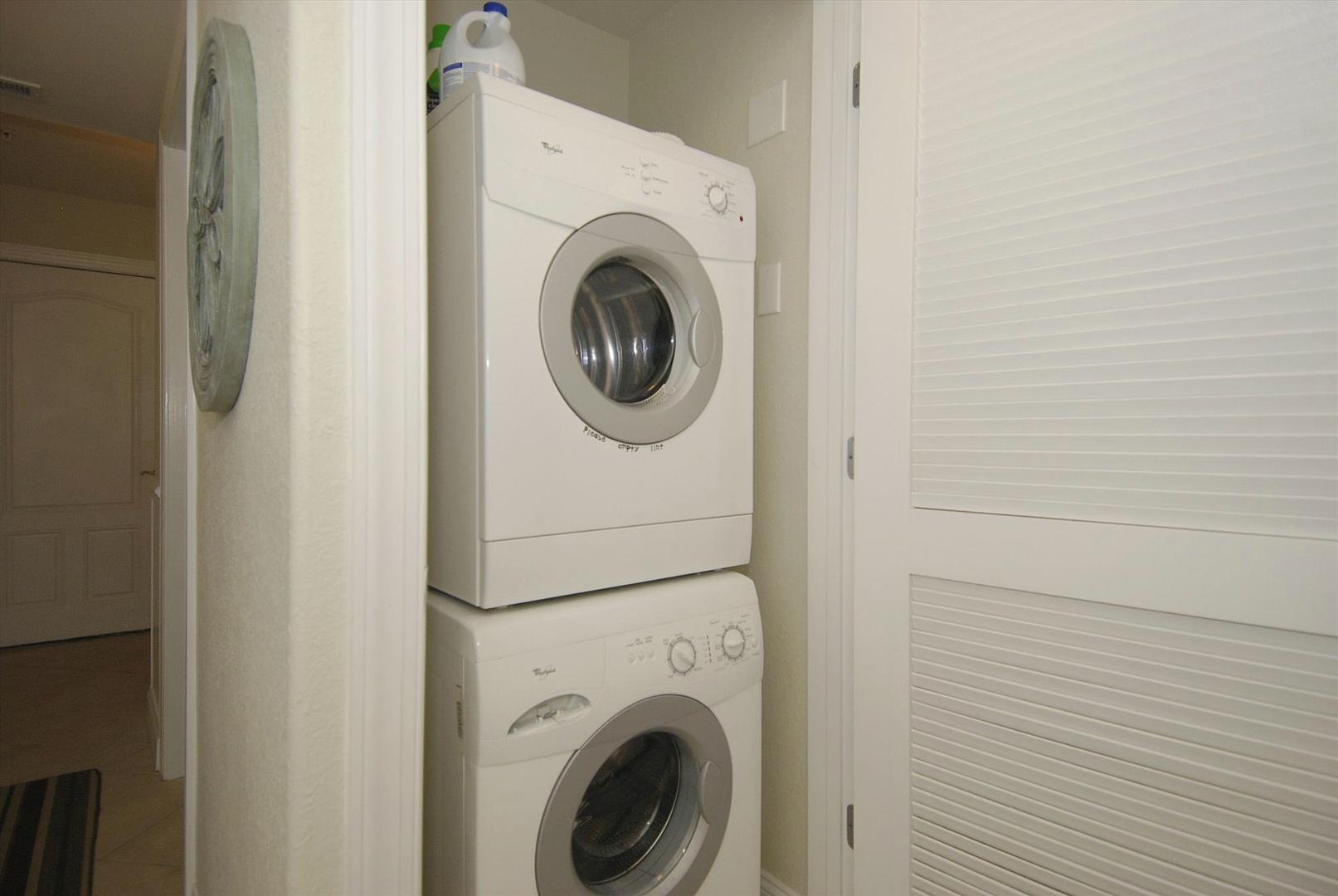 Sunset Beach 207 - Laundry