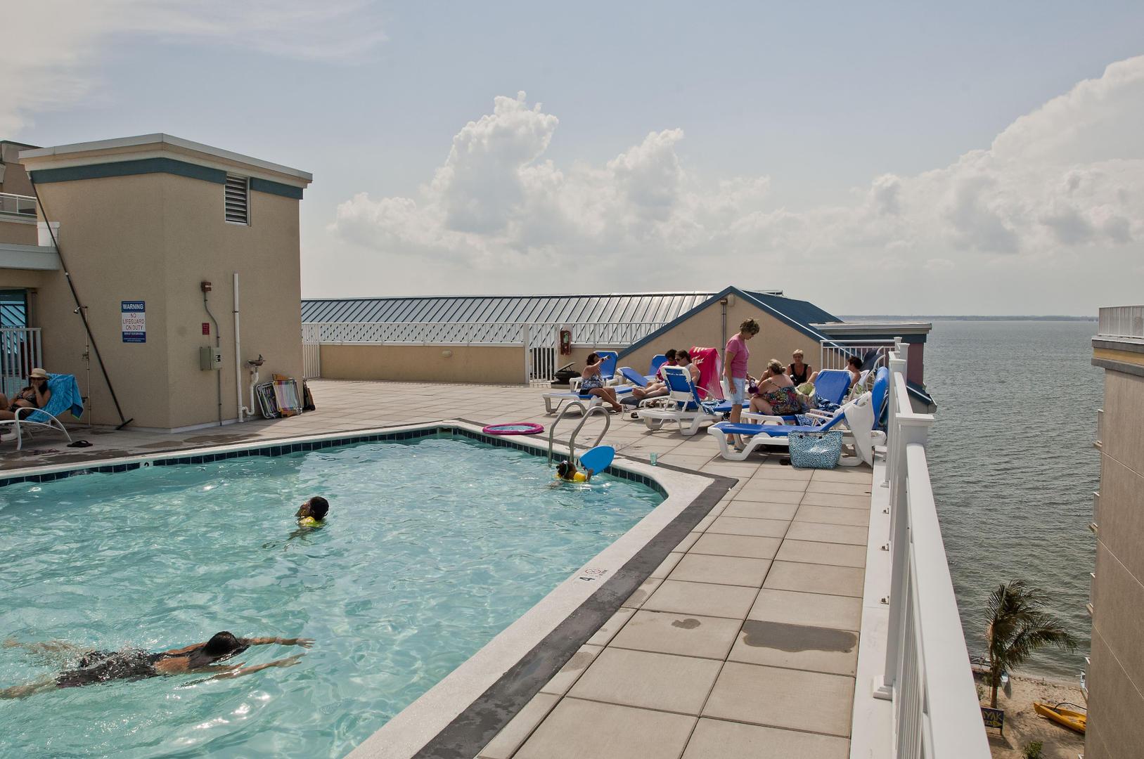 Sunset Beach Rooftop Pool