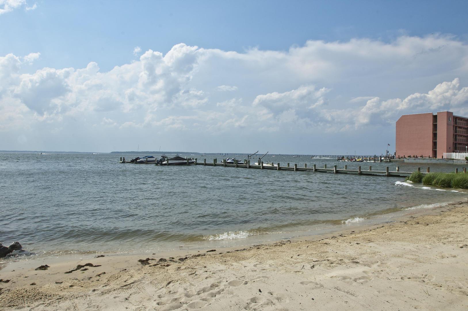 Sunset Beach Bayfront Beach