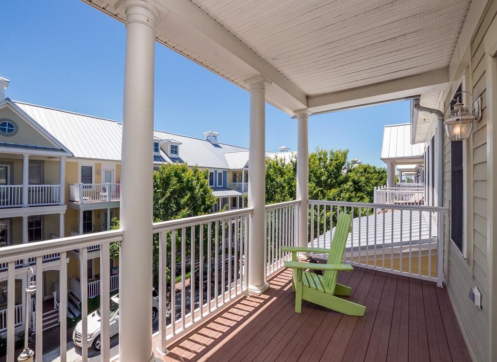 Sunset Island, 34 Island Edge Drive - Balcony