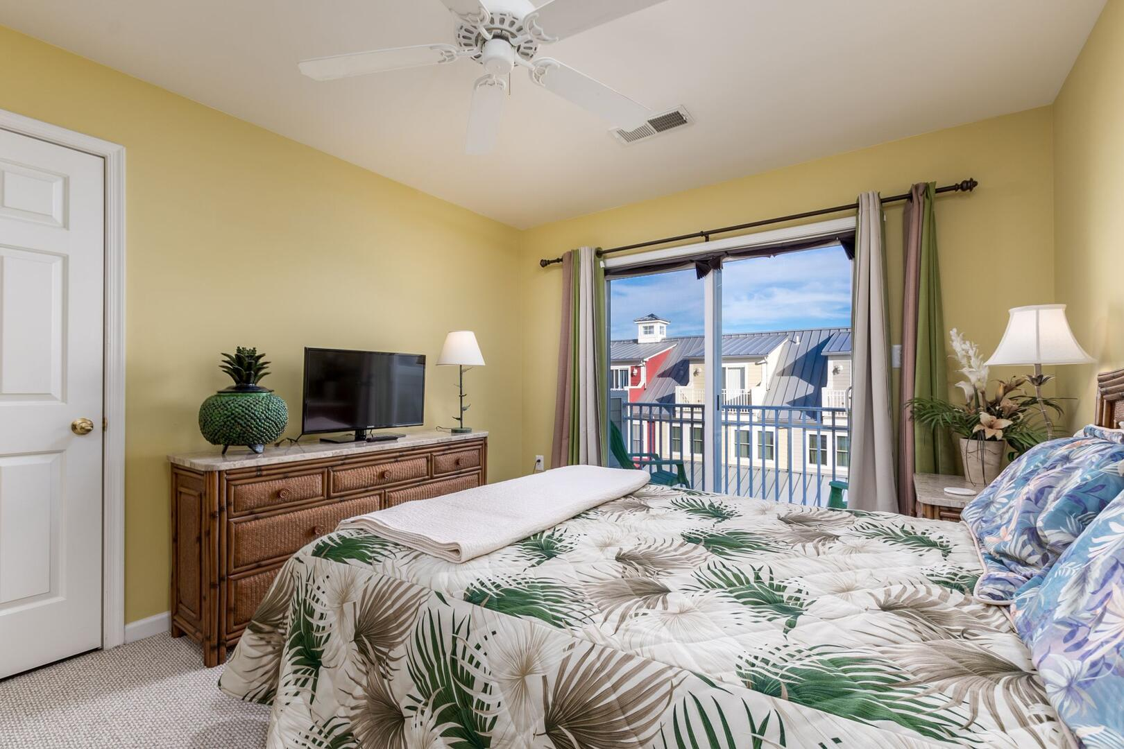 4th Floor Master Bedroom - Sunset Island 34 Island Edge Dr.