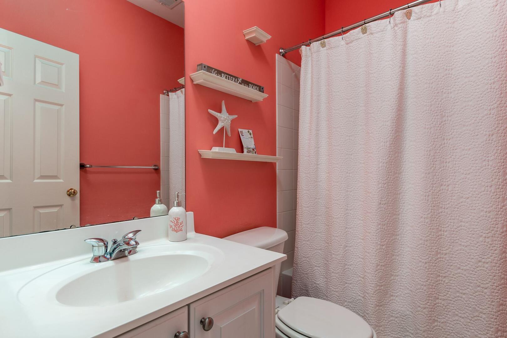 3rd Floor Hall Bathroom - Sunset Island 34 Island Edge Dr.