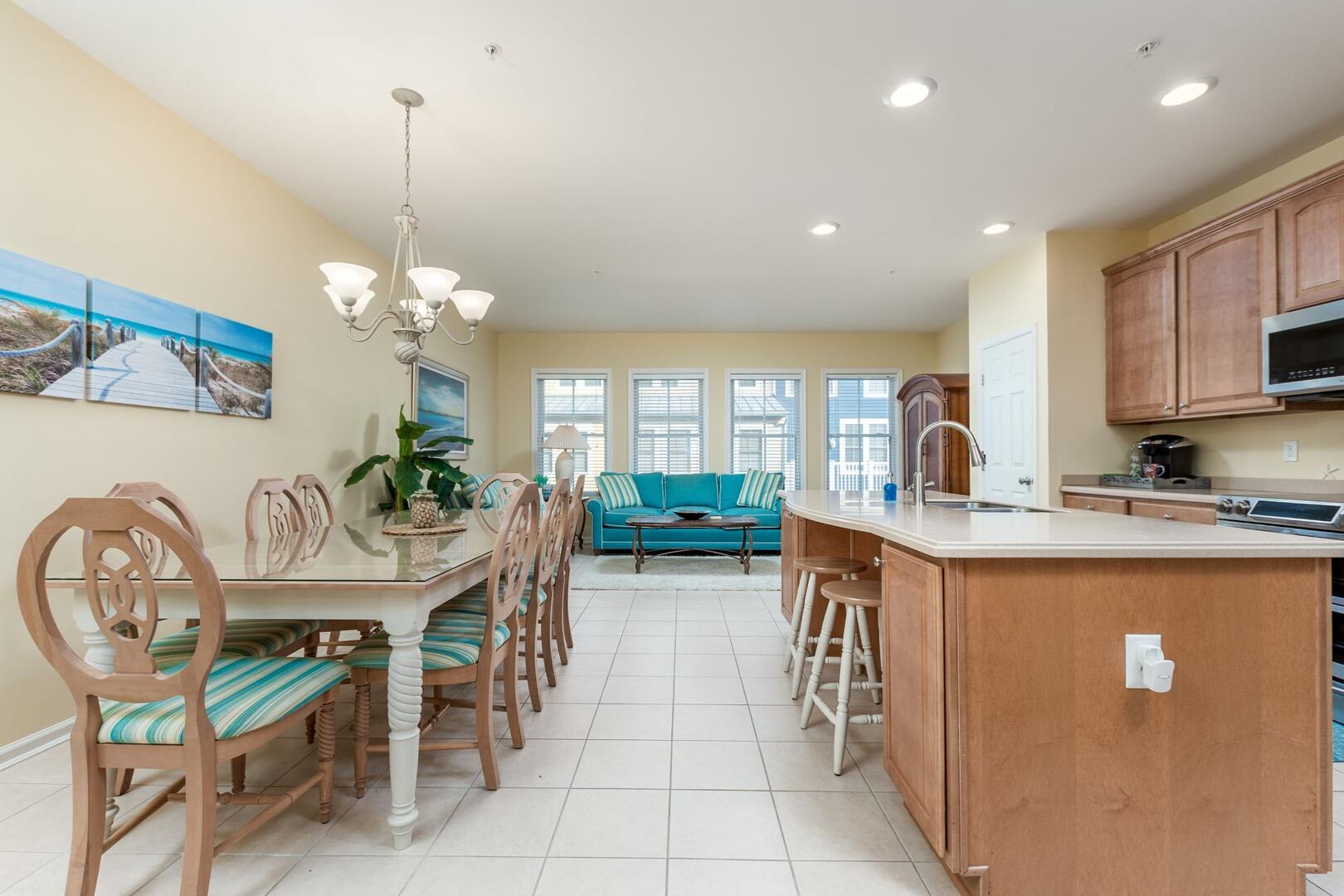 Kitchen, Dining Area, Sitting Area - Sunset Island 34 Island Edge Dr.