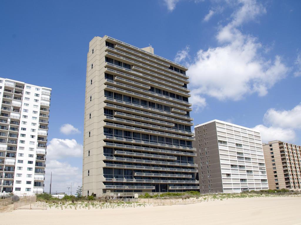 Oceanfront Exterior of Century I Building