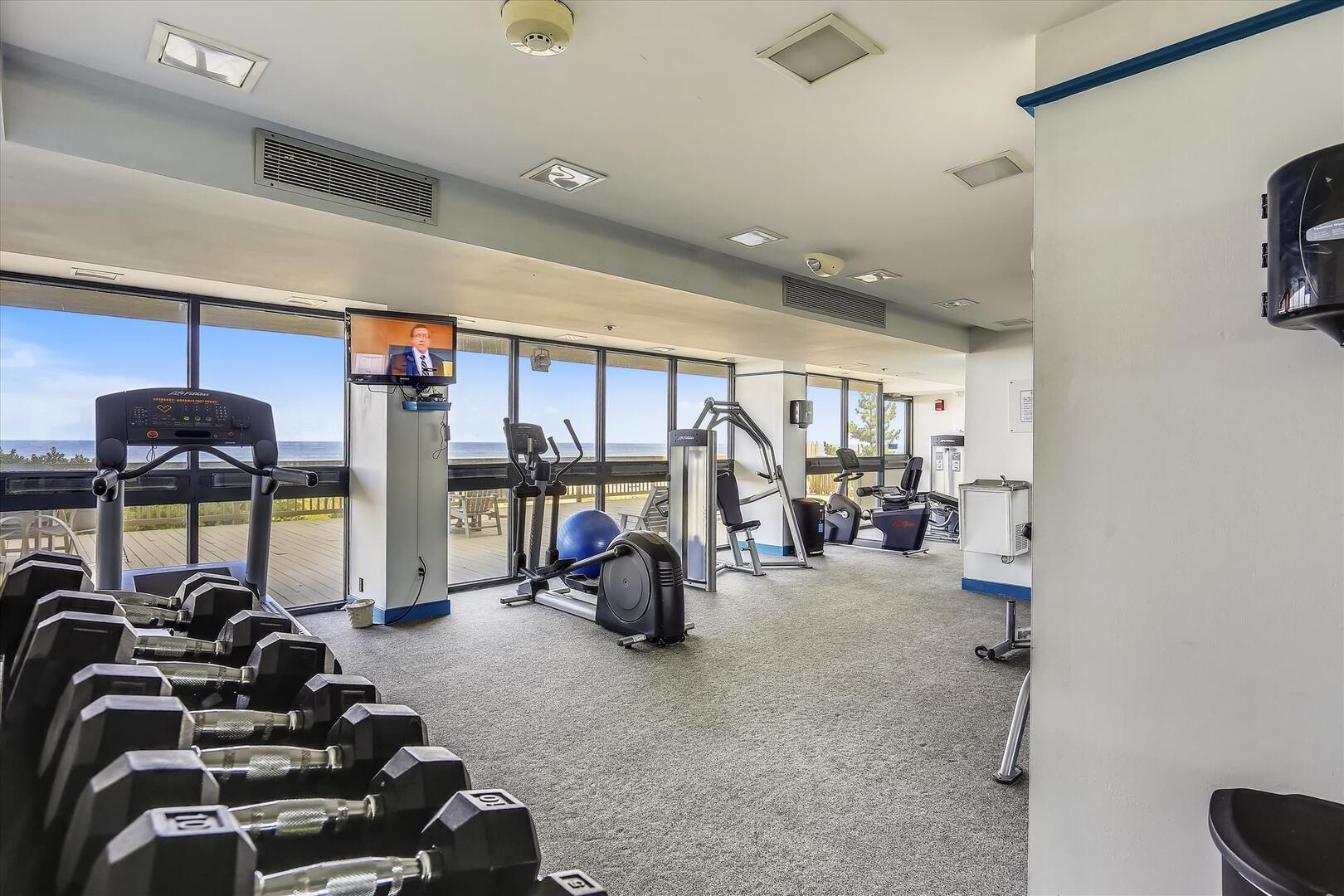 Fitness Center of Century I Building