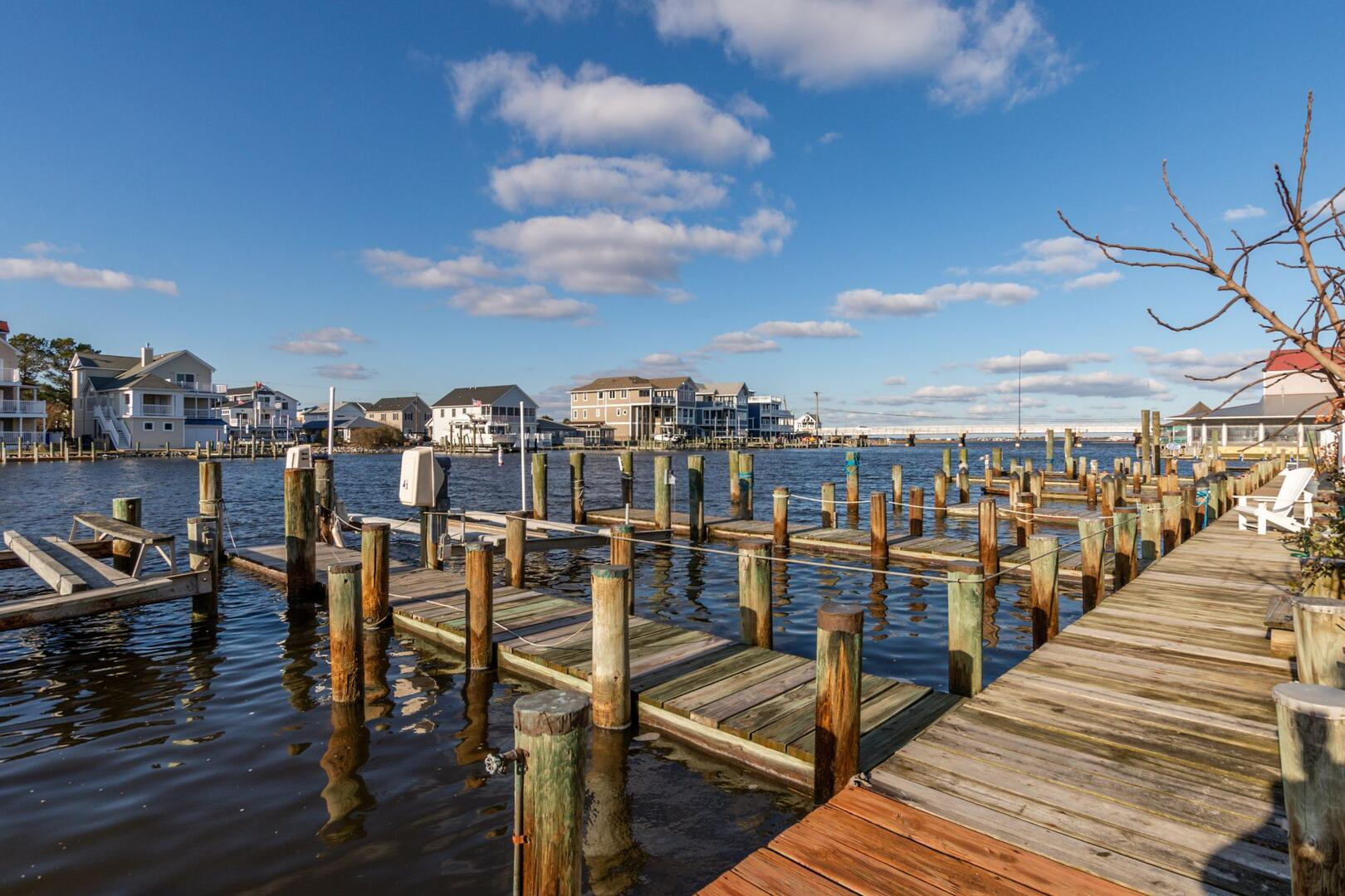 Private Dock of Sunset Harbour 14127B